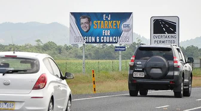 north queensland billboard