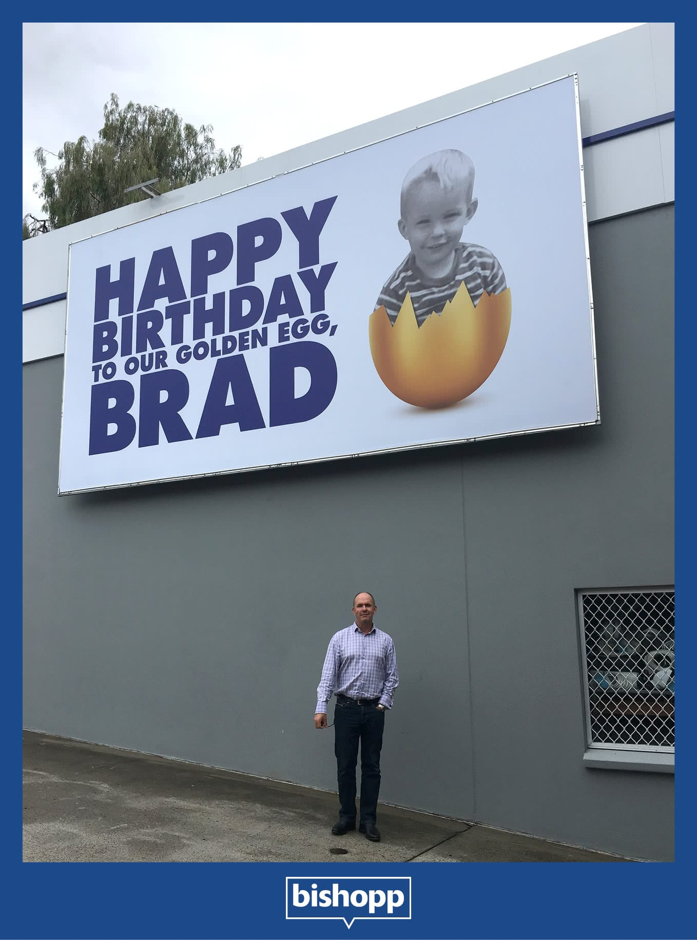 Brad Bishopp Birthday