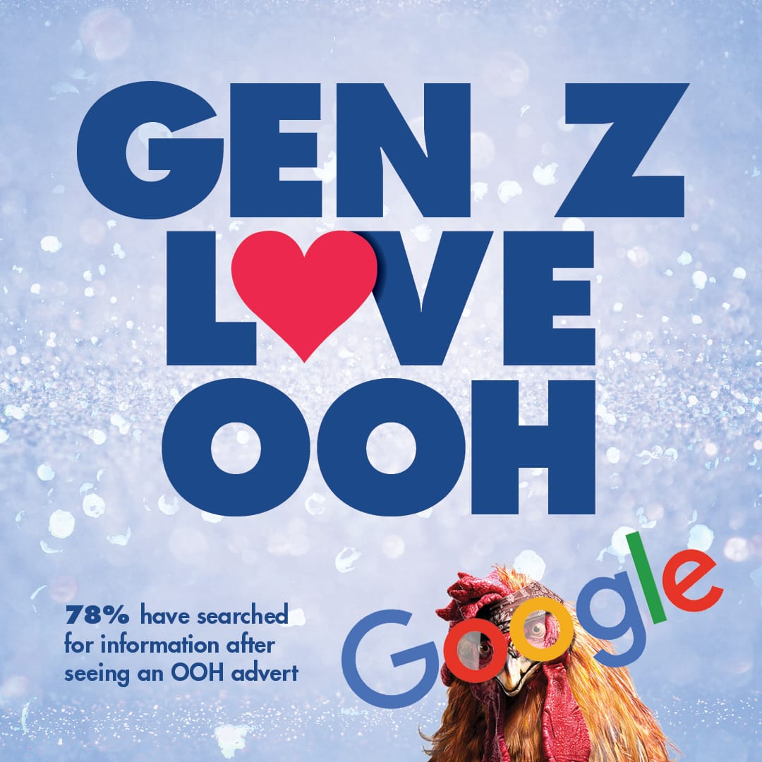 Gen Z Love OOH - outdoor advertising and brand awareness
