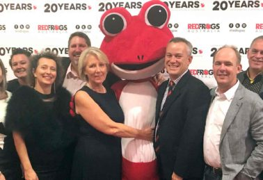 Red Frogs Gala, Bishopp Outdoor Advertising, Brisbane Advertising, Bishopp Supports Red Frogs Australia