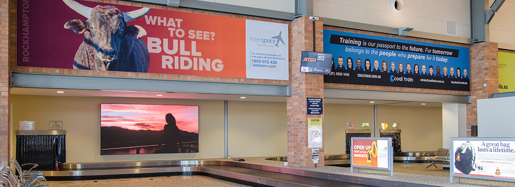 regional airport advertising - Bishopp acquires Interspace