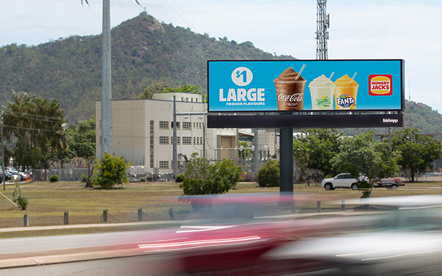 Gladstone Digital Billboard