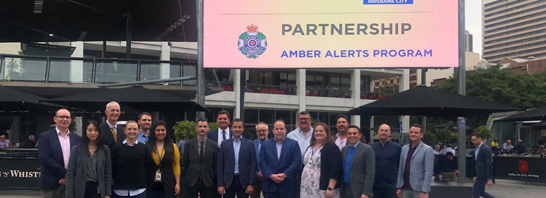 Brisbane City Council Amber Alerts Outdoor Media Bishopp
