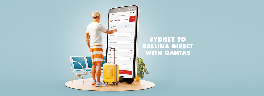 QANTAS flights to Ballina Airport