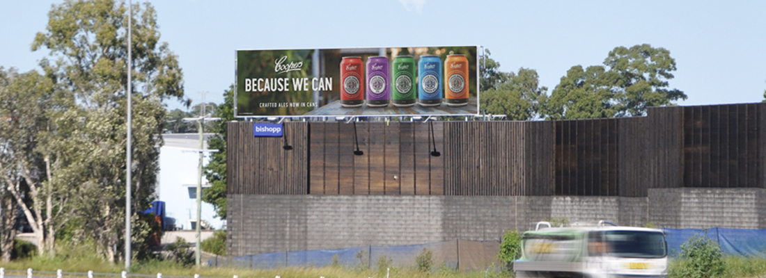 Moreton Bay Billboard, Bishopp Outdoor Advertising, Murrumba Downs Billboard, Brisbane Billboards